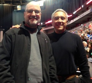 At t4g with Pastor & friend Dave Mikulsky